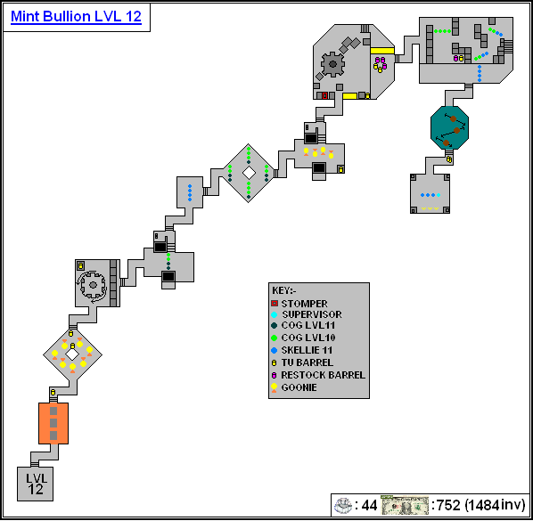 Mint Maps - Bullion Lvl12
