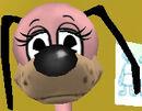 Normal dog head