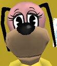 Large muzzle dog head