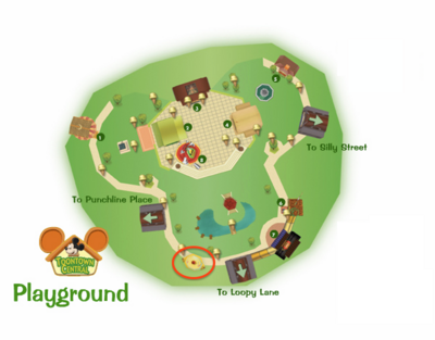 Toontown Central Pet Shop Location