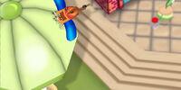 Flippy's toy airplane