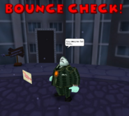 Bounce Check Tightwad