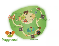 Toontown Central Clothing Shop Location