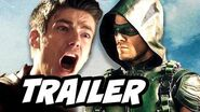 The Flash Season 3 Arrow Supergirl 4 Night Crossover Trailer Breakdown
