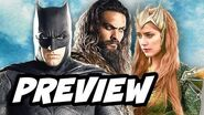 Justice League Aquaman and Mera Preview