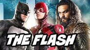 Justice League The Flash Aquaman Extended Trailer Description and Batgirl Movie
