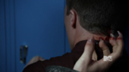 Derek scratches Jackson with wolfsbane