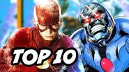The Flash Season 3 Episode 17 Funny God TOP 10 and Comics Easter Eggs