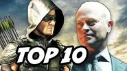 Arrow Season 4 Episode 1 - TOP 10 WTF and Easter Eggs