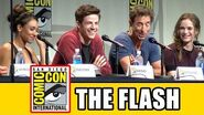 The Flash Comic Con Panel - Grant Gustin, Candice Patton, Danielle Panabaker, Carlos Valdes