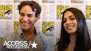 'Shadowhunters' At Comic-Con Alberto Rosende & Emeraude Toubia On New Seelie Queen Sarah Hyland