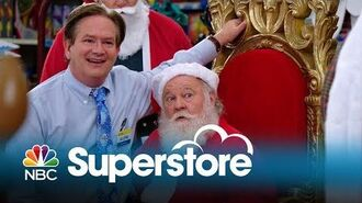 Superstore - Deleted Scene Glenn Tests the Santas (Digital Exclusive)