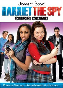 Harriet The Spy Blog Wars DVD cover