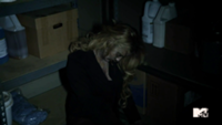 Teen Wolf Season 3 Episode 2 Gage Golightly Dead Erica head DOWN