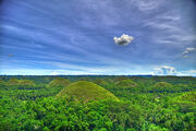 Chocolate Hills (Bohol, Philippines) (View on Black) (kthxbai)