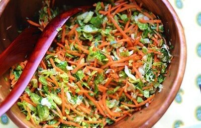 Brusselsprout-carrot