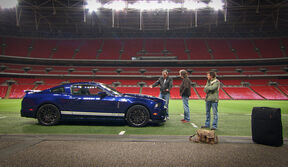 Top gear in wembley
