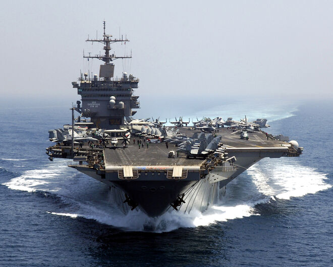 USS Enterprise Bow
