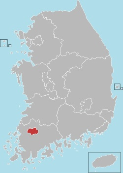 Gwangju map 001