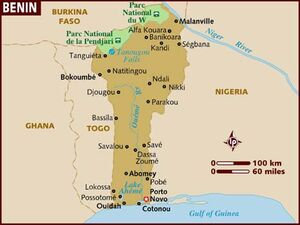 Benin map 001