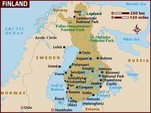 Finland map 001