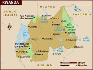 Rwanda map 001