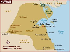 Kuwait map 001