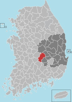 Gimcheon map 001