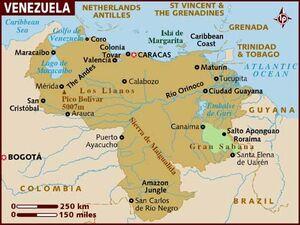 Venezuela map 001