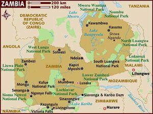 Zambia map 001