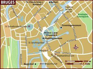 Bruges map 001