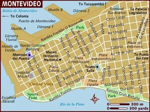 Montevideo map 001