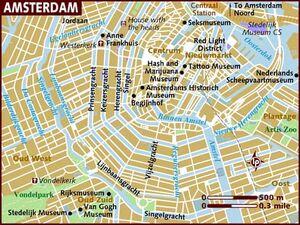 Amsterdam map 001