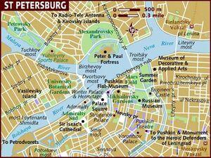 Saint Petersburg map 001