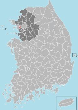 Bucheon map 001
