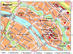 Bremen map 001
