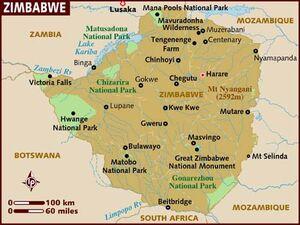 Zimbabwe map 001