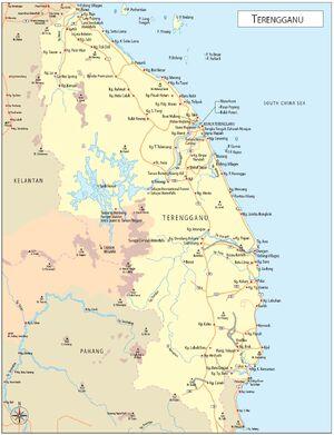 Terengganu map 001
