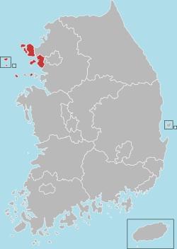 Incheon map 001