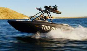 Tahoe-speedboat