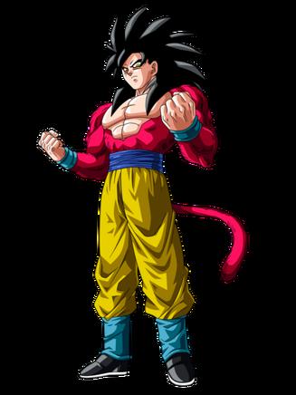 Goku Ssj4 superando a todos los saiyajines by Luis Gohan917