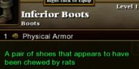 Inferior Boots