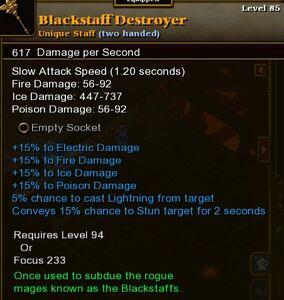 Blackstaff Destroyer
