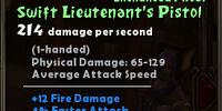 Swift Lieutenant's Pistol