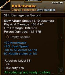 Bulletsnake