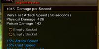 Eight-Armed Axe