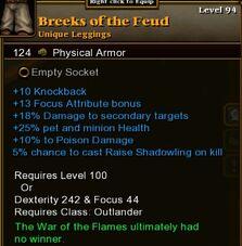 Breeks of the Feud
