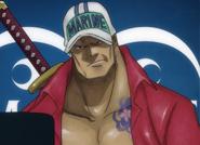 Atsuki in his youth as a Bishokukai