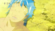 Toriko unconscious from the smell