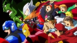 Marvel Disk Wars The Avengers Opening 1 ディスク・ウォーズ:アベンジャーズ オープニング 1 1 أغنية البداية 【OP】【HD】 2014